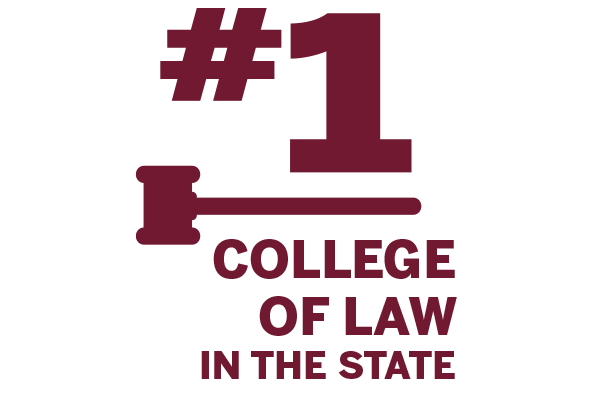 #1 College of Law in the state